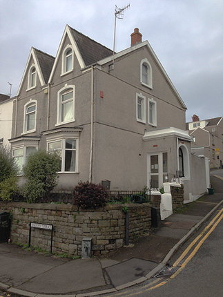 Thumbnail Town house to rent in Malvern Terrace, Brynmill, Swansea