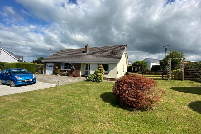 Thumbnail Detached bungalow for sale in Ffostrasol, Llandysul