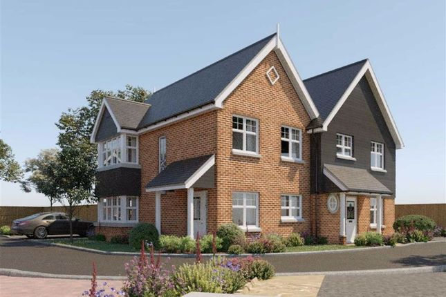 Thumbnail Semi-detached house for sale in Cambridge Road, Puckeridge, Hertfordshire