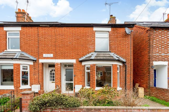 Thumbnail End terrace house to rent in Russell Road, Newbury