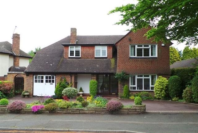 Thumbnail Detached house for sale in Thornhill Park, Streetly, Sutton Coldfield
