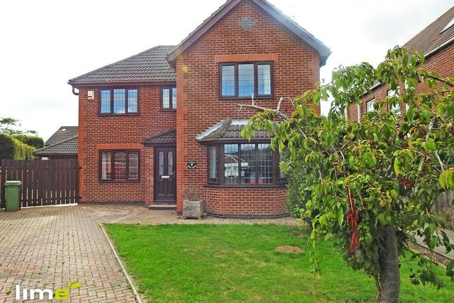 Thumbnail Detached house to rent in Rise Close, Long Riston