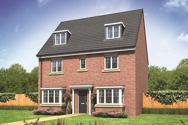 "Thumbnail Detached house for sale in ""The Regent"" at Northborough Way, Boulton Moor, Derby"