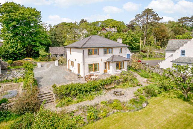 Thumbnail Detached house for sale in Lon Ednyfed, Criccieth, Gwynedd