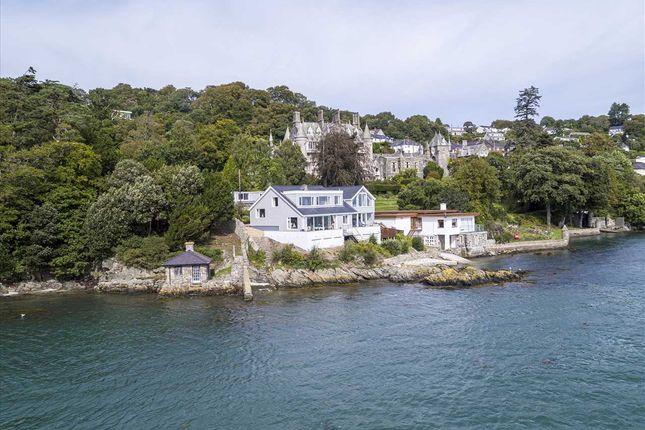 Thumbnail Detached house for sale in Craig Y Fenai, Glyn Garth, Menai Bridge