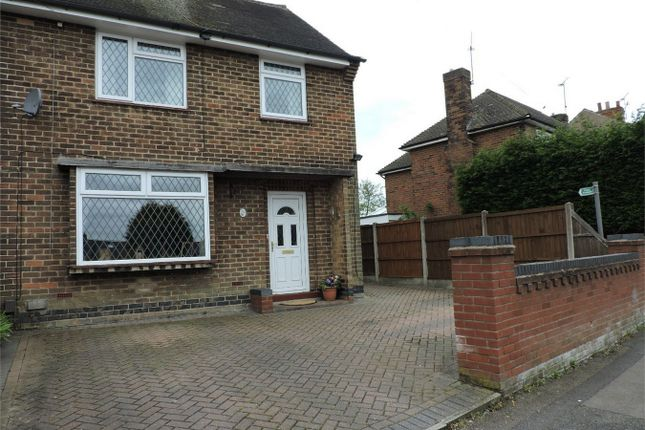 Thumbnail Semi-detached house for sale in Downing Street, South Normanton, Alfreton, Derbyshire