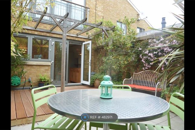 Thumbnail End terrace house to rent in Highbridge Wharf, London