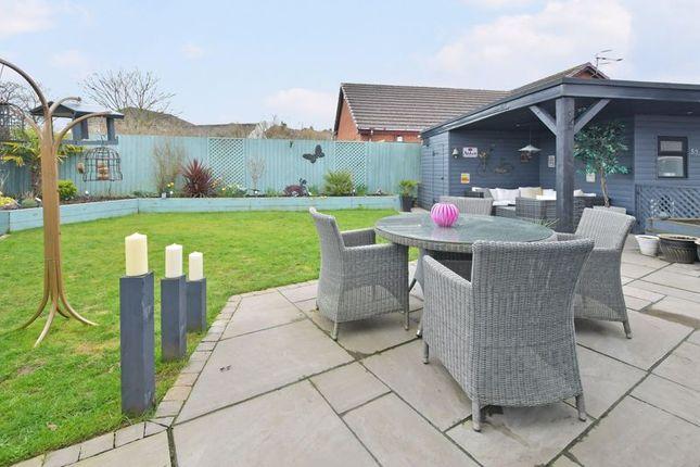 Patio Area of Derwent Crescent, Kidsgrove, Stoke-On-Trent ST7