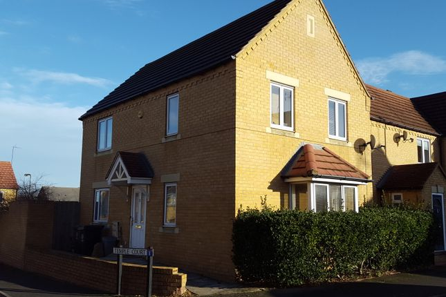 Thumbnail Town house for sale in Temple Court, Higham Ferrers