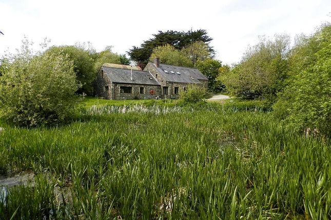 Thumbnail Farmhouse for sale in Cei Bach, Llanarth, Ceredigion