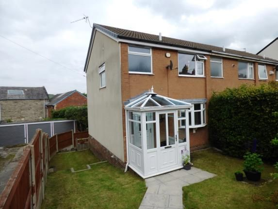 4 bed end terrace house for sale in Meadow Lane, Disley, Stockport, Cheshire SK12