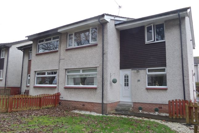 Thumbnail Flat for sale in Earlston Crescent, Coatbridge
