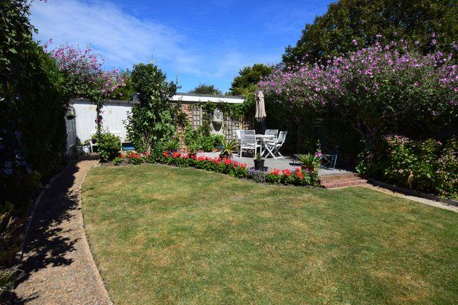 Rear Garden of Camber Drive, Pevensey Bay BN24