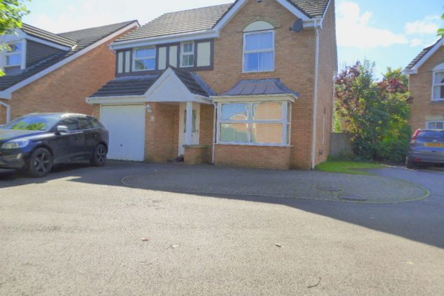 Thumbnail Detached house to rent in Oak Tree Drive, Rogerstone, Newport