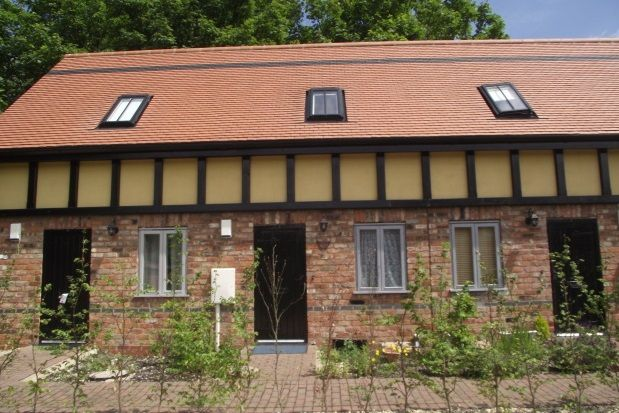 Thumbnail Town house to rent in Lodge Court, Brant Road, Lincoln