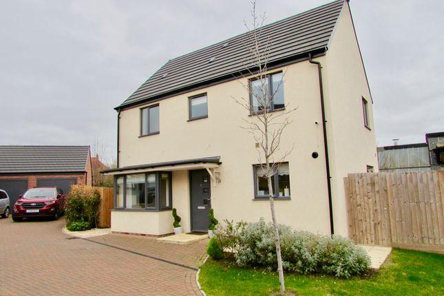 Thumbnail Detached house for sale in Kensington Close, Kingsthorpe, Northampton