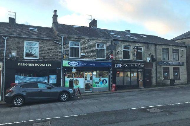Thumbnail Retail premises for sale in Burnley Road, Rossendale