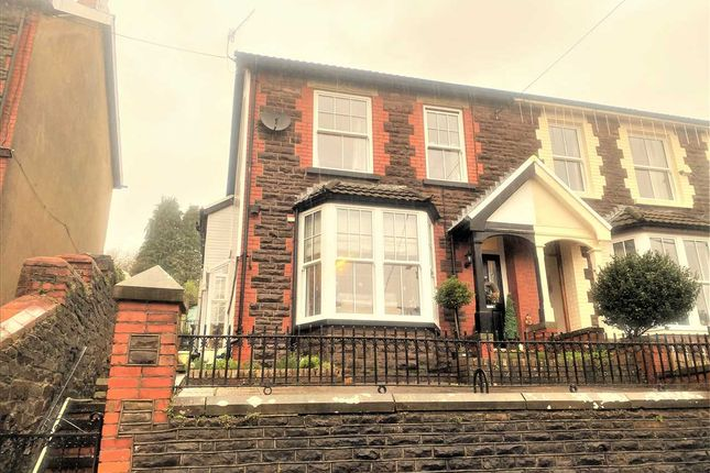 Thumbnail Semi-detached house for sale in Upper Canning Street, Ton Pentre, Pentre