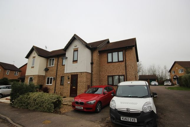 Thumbnail Semi-detached house for sale in Chatsworth Drive, Wellingborough, Northamptonshire.