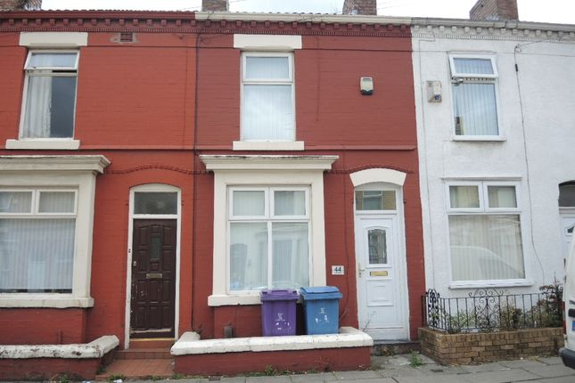 Thumbnail Terraced house to rent in July Road, Tuebrook, Liverpool