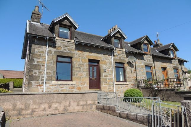Thumbnail Semi-detached house for sale in Glenlossie Road, Thomshill, Elgin