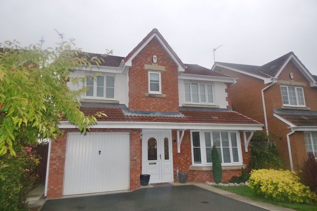 Thumbnail Detached house for sale in Chatsworth Drive, Bedlington