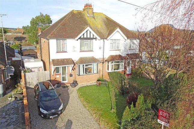 3 bed semi-detached house for sale in North Lane, East Preston, Littlehampton