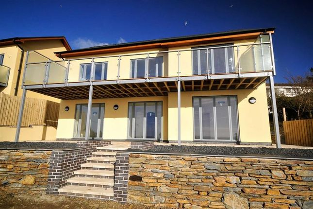 Thumbnail Detached house for sale in Hildamere, 3, Gwelfor Road, New Development, Aberdyfi, Gwynedd