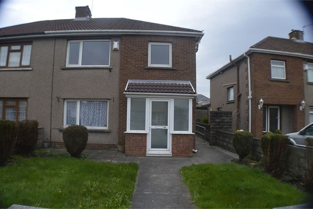 Thumbnail Semi-detached house for sale in Harlequin Road, Port Talbot, West Glamorgan
