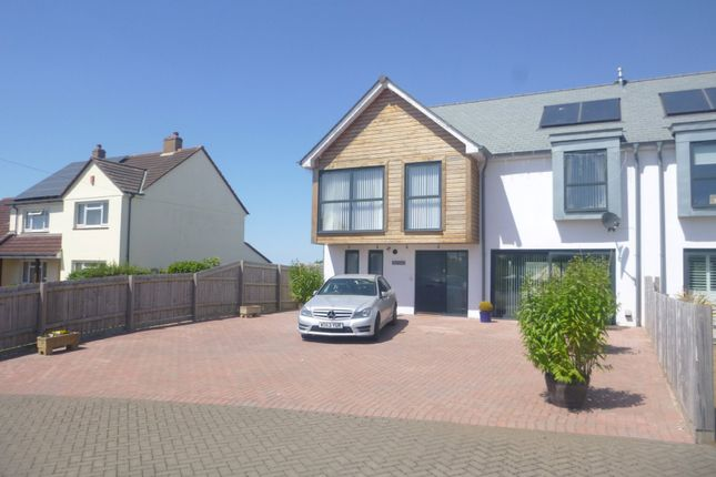 Thumbnail Semi-detached house to rent in Broadclose Hill, Bude, Cornwall