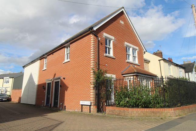 Thumbnail Maisonette to rent in Chapel Road, West Bergholt, Colchester