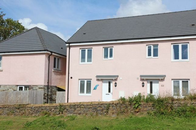 Thumbnail Semi-detached house for sale in Littledale Row, Trevenson Road, Newquay