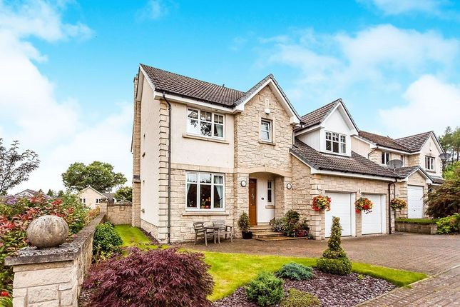 Thumbnail Detached house for sale in Balgeddie Park, Leslie, Glenrothes