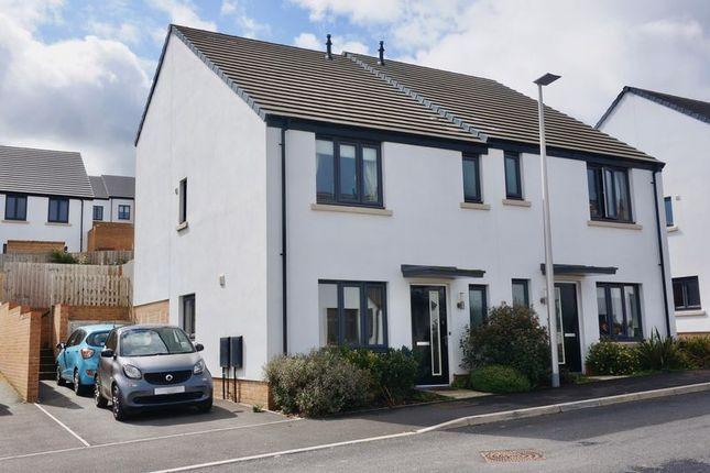 3 bed semi-detached house for sale in Okehampton, Devon