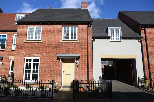 Thumbnail Semi-detached house for sale in Long Row Drive, Lawley Village, Telford