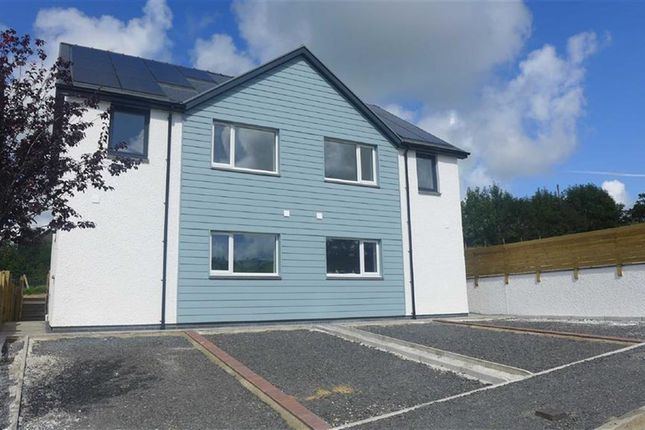 Thumbnail Terraced house for sale in Ger-Y-Cwm Development, Aberystwyth, Ceredigion
