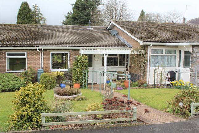 Thumbnail Terraced bungalow for sale in Brookwood Close, South Brent, Devon