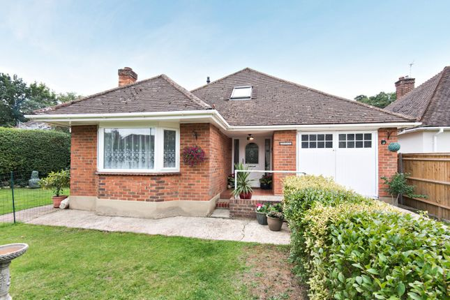 Thumbnail Detached bungalow for sale in The Triangle, Woking