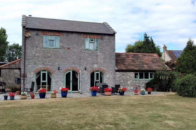 Thumbnail Farmhouse for sale in Wick Road, Wick St Lawrence, North Somerset
