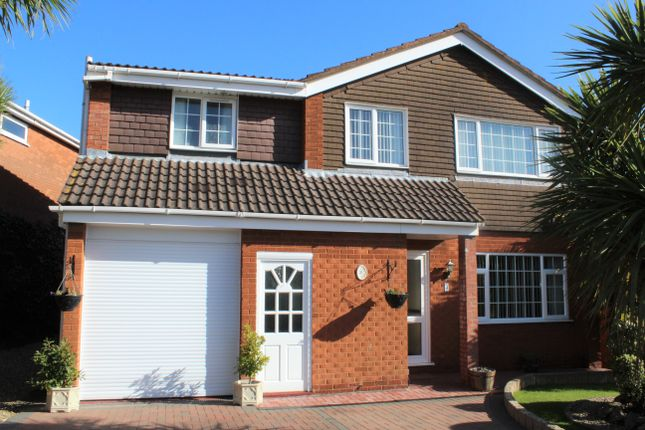 Thumbnail Detached house for sale in Wigmore Gardens, Worle, Weston-Super-Mare