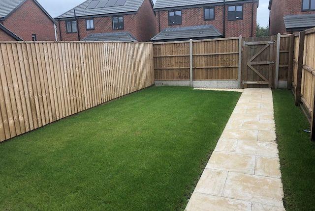 Garden of Glebelands Park, Leicester Road, Ashton Green, Leicester LE4