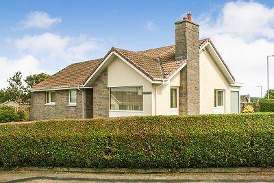 Thumbnail Detached bungalow for sale in Cruachan, Larg Avenue, Stranraer