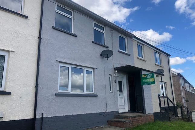 Thumbnail Terraced house for sale in Heol Rhos Las, Merthyr Tydfil