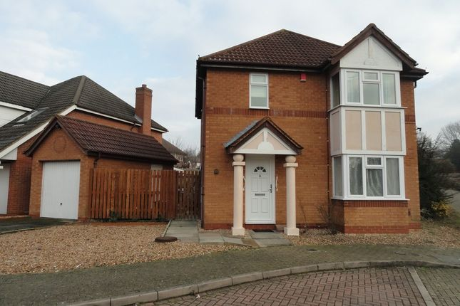 Thumbnail 3 bed detached house to rent in Streatham Place, Bradwell Common, Milton Keynes