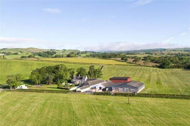 Thumbnail Farm for sale in Mossend Farm, Kilbirnie, North Ayrshire