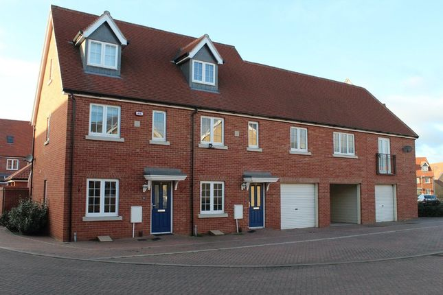 Thumbnail Terraced house to rent in Weyland Drive, Stanway, Colchester