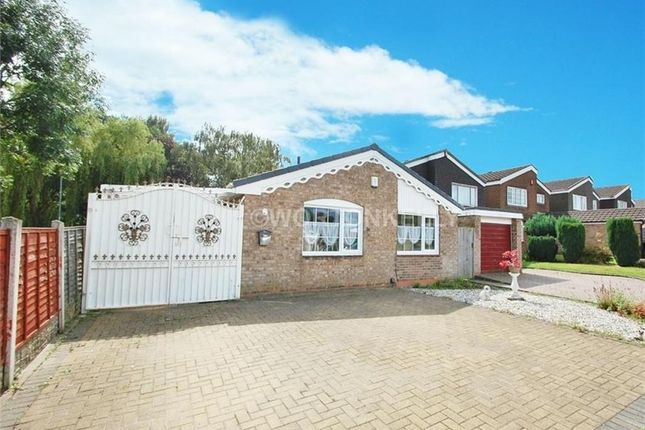 Thumbnail Detached bungalow for sale in Europa Avenue, West Bromwich