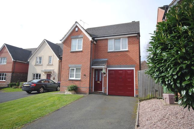 Thumbnail Detached house to rent in Ellis Peters Drive, Aqueduct, Telford