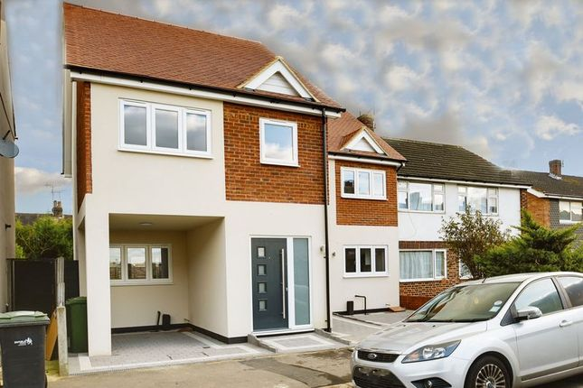 Thumbnail Semi-detached house for sale in Salisbury Road, Enfield