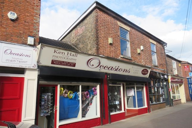 Thumbnail Retail premises for sale in Finkle Street, Thorne